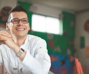 Luis Miguel Bermúdez, docente colombiano.