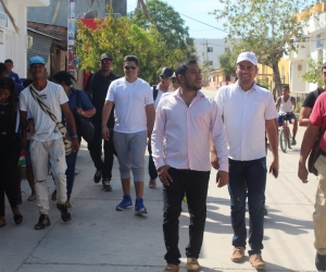 Recorrido por las calles de El Peñón.