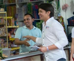 Rubén Jiménez, continúa con su agenda de trabajo por el sur del Magdalena.
