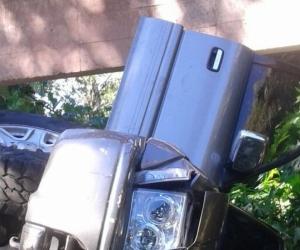 Camioneta del padre de Silvestre Dangond.