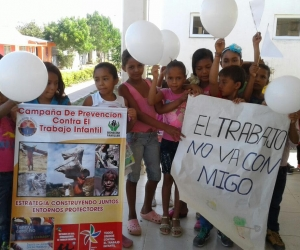 La Universidad del Magdalena se unió a las voces de rechazo contra el trabajo infantil.