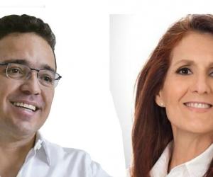 Rafael Martínez y Rosa Cotes.