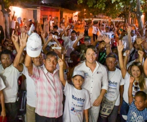Rubén Jiménez ha recibido el apoyo de los magdalenense en su Ruta de La Alegría.