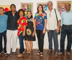 La exposición  titulada 'Los Colores del Caribe' cuenta con el apoyo de la Red de Artistas Plásticos de Santa Marta, una red que fue producto de un trabajo realizado con el Museo de Arte de la Universidad del Magdalena después de un proceso académico y de fortalecimiento.