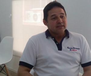 Honorio Henríquez, senador de La República.