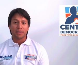 Rubén Jiménez, candidato a la Cámara por el Magdalena.