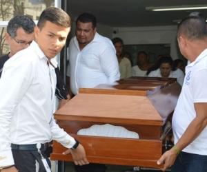 El cuerpo de Cardona Jiménez fue velado en la funeraria Los Olivos, la misa en la Parroquia San José y su última morada fue en Jardines de Paz.
