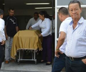 Familiares despidieron a Humberto de Jesús Cardona Jiménez.