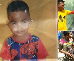 Foto autorizada de la familia del niño de 3 años, Gino Sebastián Castro Carrascal, que murió luego de recibir un disparo.