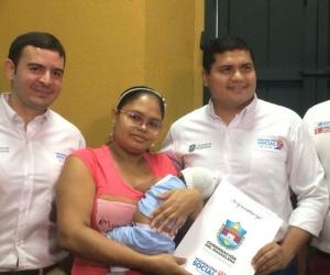 Yuleidis Pedraza agradeció el proyecto, realizado gracias a la gestión de la administración departamental