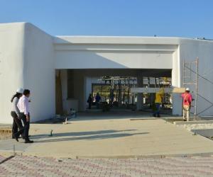 Centro de Vida para el adulto mayor, que se levanta en el barrio Bastidas.