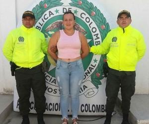 La capturada, Carolina Giraldo Ochoa.