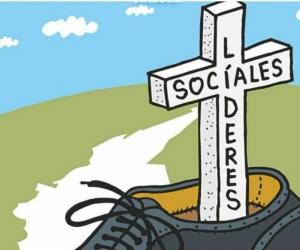 El Informe sobre las muertes de los líderes sociales se titula ´Piedras en el Zapato´.