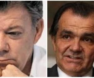 Juan Manuel Santos y Oscar Iván Zuluaga.