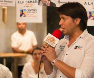 El candidato a la Cámara de Representantes por el Magdalena, Rubén Jiménez, habló de los proyectos a gestionar desde el congreso de la República, si llega  a ser elegido este 11 de marzo.