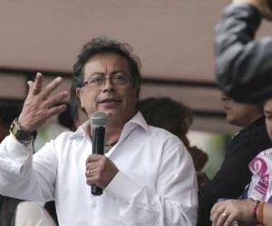 Gustavo Petro, agredido en Cúcuta.