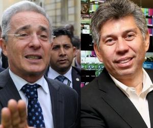 Expresidente y senador Álvaro Uribe - Periodista Daniel Coronel