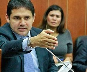 Honorio Henríquez, senador de la República y candidato a ocupar curul nuevamente.
