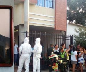 Padre Dagoberto Noguera, asesinado en el barrio Mamatoco.