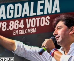 Fabián Castillo Suarez, agradeció al departamento del Magdalena y a los colombianos por la confianza que le permitió ocupar la curul  en el Senado de la Republica.