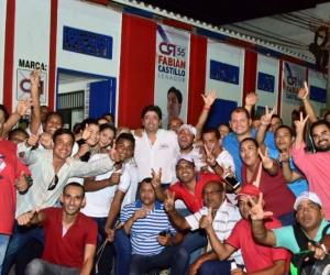 Los cienagueros celebraron el triunfo de este hijo del Magdalena, quien alcanzó una votación destacada con el partido Cambio Radical.