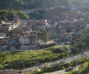 Corregimiento de San Cristobal, en Medellín.
