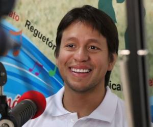 Rubén Jiménez, agradeció a los magdalenenses por el apoyo.