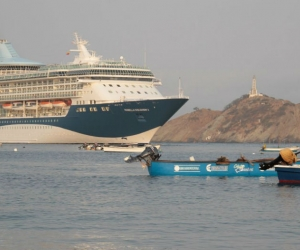 Crucero Marella Discovery II proveniente Montego Bay, Jamaica.