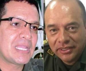 Coroneles retirados temporalmente de la Policía.