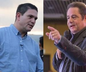 Juan Carlos Pinzón y Germán Vargas Lleras.