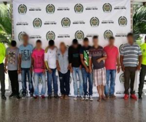 Esta es una de las bandas implicadas en los robos a la estatal petrolera Ecopetrol.