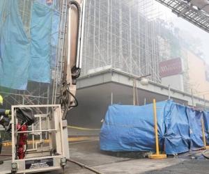 Unos 300 clientes y más de 70 empleados fueron evacuados.