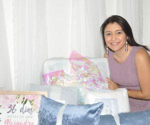 La novia, Alejandra De Luque Pisciotti.
