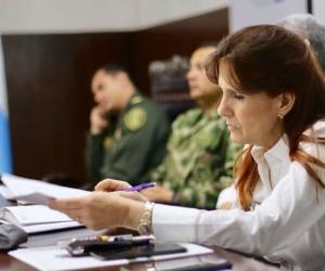 Rosa Cotes presidió la primera sesión ordinaria del comité de Justicia Transicional