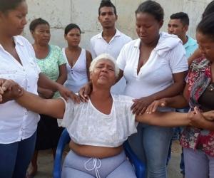 Luz Marina Parejo, abuela de la menor