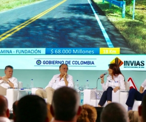 Reunión del Presidente con Gobernadores y Alcaldes de la Costa, en Puerto Colombia, Atlántico.