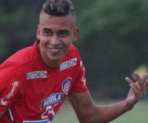 Víctor Cantillo, jugador de el Junior.