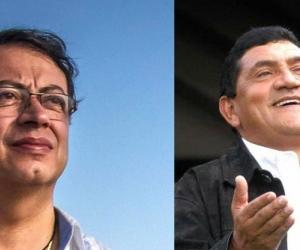 Gustavo Petro y Poncho Zuleta.