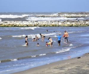 Playas de Puerto Colombia.