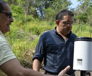 El proyecto busca hacer monitoreo constante al caudal del afluente.