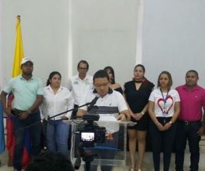 El anuncio del aumento de la recompensa lo hizo el alcalde Martínez.