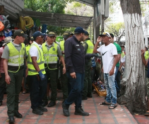 Recibieron ataques verbales y fueron custodiados a la inspección para evitar agresiones físicas.