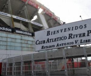 Imagen del estadio Monumental de River Plate.