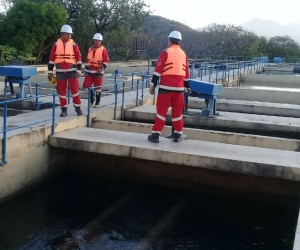 La Planta de Tratamiento de Agua Potable de Mamatoco es una de más afectadas.