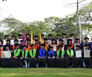 La Universidad del Magdalena graduó a estudiantes de diferentes partes del país.