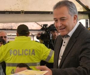 Óscar Naranjo, actual vicepresidente de Colombia.