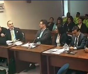 Audiencia de falso fiscal y abogada de Pedro Aguilar.