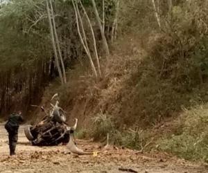 Un policía magdalenense murió en el atentado.
