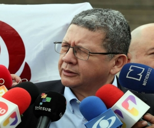 El exguerrillero de las FARC Pablo Catatumbo.