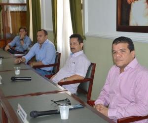 Parte de los diputados asistentes a la Plenaria de la Asamblea Departamental.